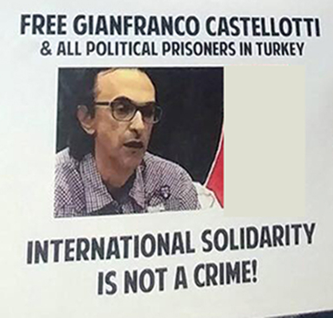 Anti-imperialist Front Italy: Freedom for all political prisoners!