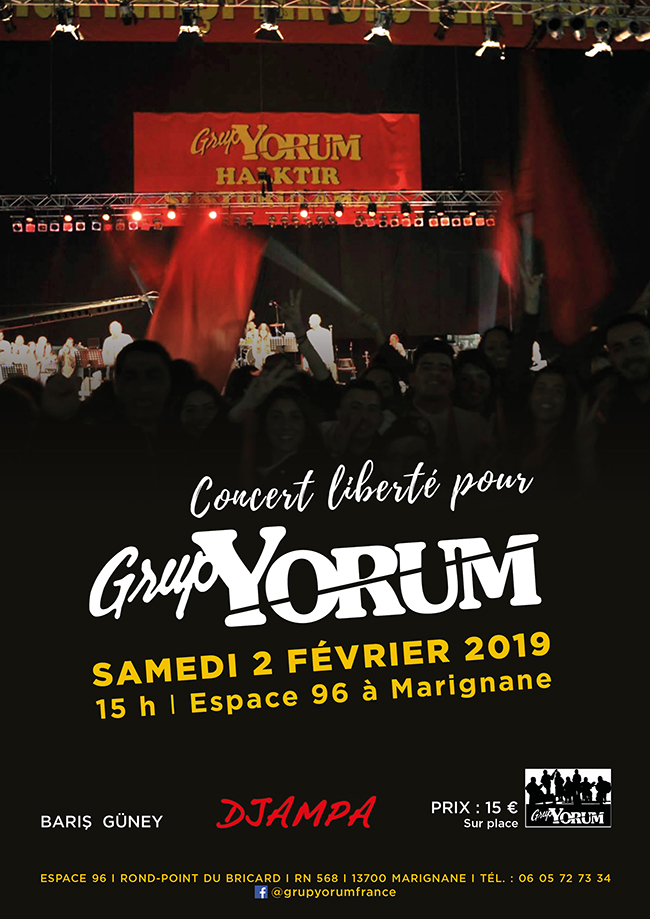 Concert 'Freedom for Grup Yorum'